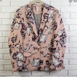 MUST HAVE Agnes & Dora Floral Blazer NEW Size L